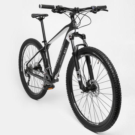 6c8af9747 Bicicleta Gonew Endorphine 10.3 Carbon Shimano Alivio 3 x 8 Marchas - Aro 29  - Preto