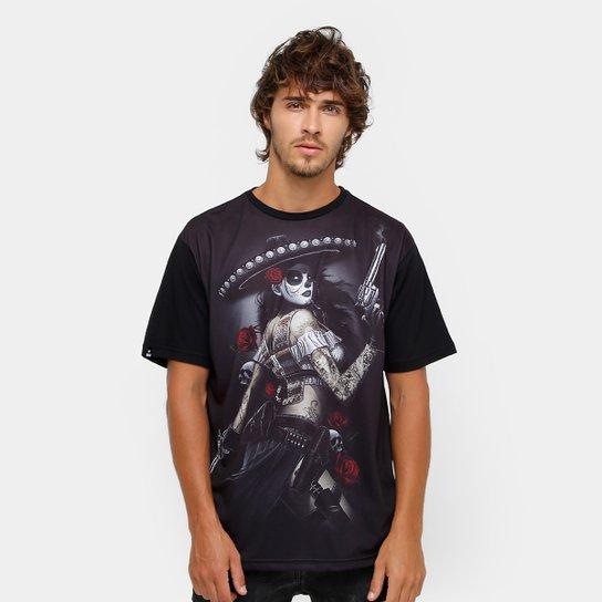 Camiseta Okdok Katrina Masculina - Compre Agora  a0cce443617
