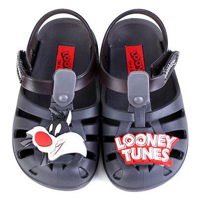 Sandália Infantil Grendene Kids Looney Tunes Folks Baby