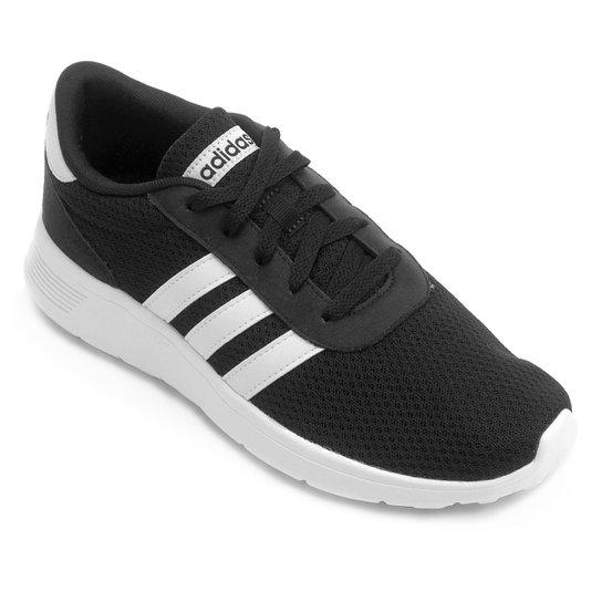 59ca278abd3 Tênis Adidas Lite Racer Masculino - Preto e Branco - Compre Agora ...