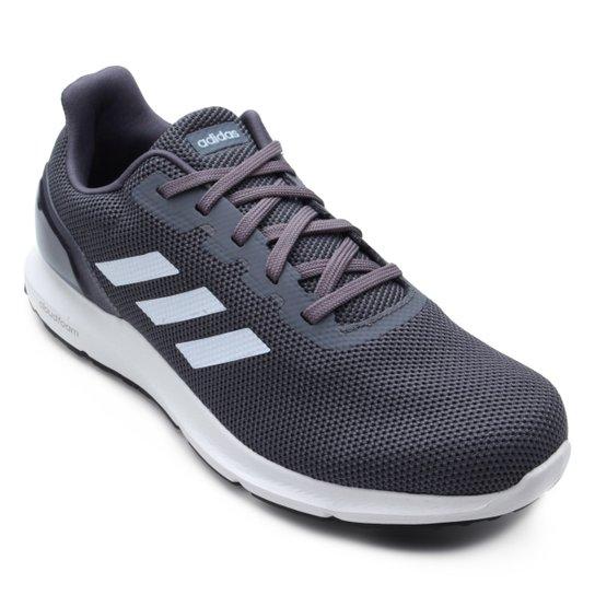4234a64bc1 Tênis Adidas Cosmic 2 Masculino - Cinza e Branco | Netshoes