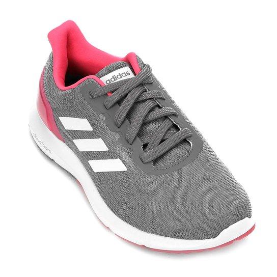 1011cba2b0b Tênis Adidas Cosmic 2 Feminino - Cinza e Branco - Compre Agora ...