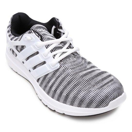0c0f686cb Tênis Adidas Energy Cloud V Feminino - Cinza e Branco - Compre Agora ...