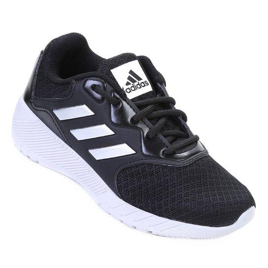 17fed2abdf Tênis Infantil Adidas Quickrun 2 K - Preto e Branco - Compre Agora ...
