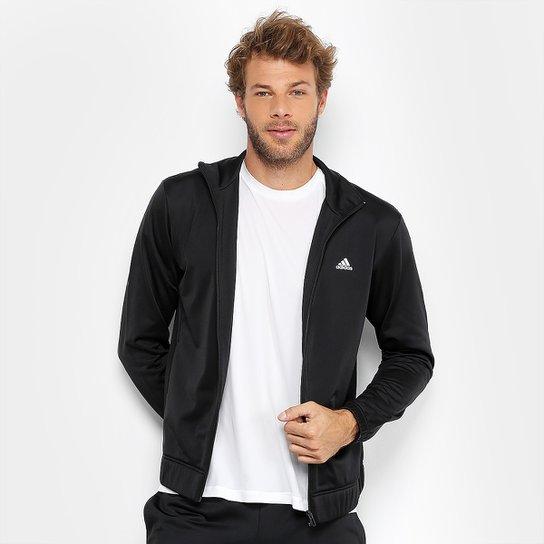 5dd75ab0b Agasalho Adidas Ep Masculino - Preto e Branco | Netshoes