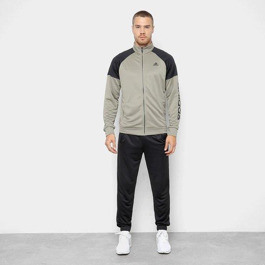 Agasalho Adidas Mts Pes Marker Masculino - Preto e Branco - Compre ... 56ddc571fa4eb