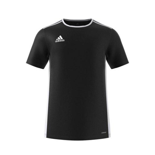 e9a14e1686 Camiseta Adidas Entrada 18 Masculina - Preto e Branco