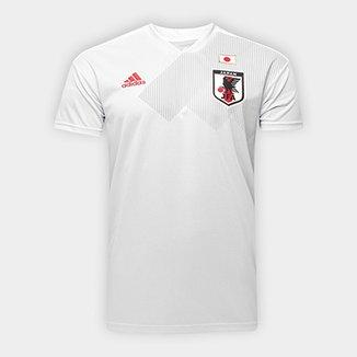 a3f9f0c49b Camisa Seleção Japão Away 18 19 s n° Torcedor Adidas Masculina