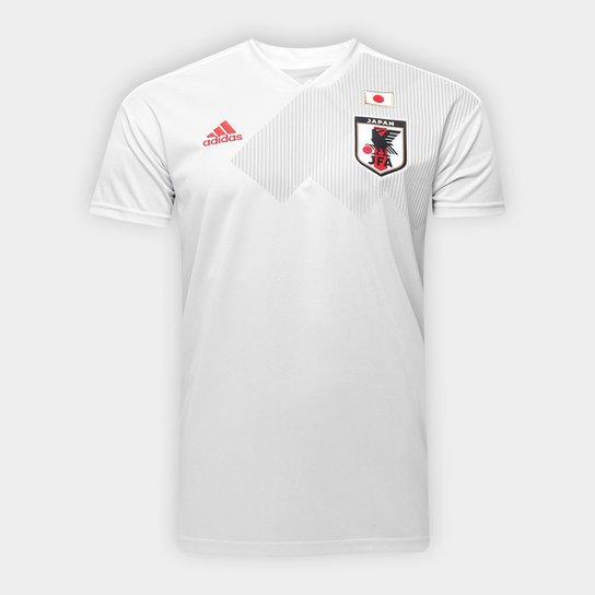 fd6c2323ff Camisa Seleção Japão Away 18 19 s n° Torcedor Adidas Masculina - Cinza