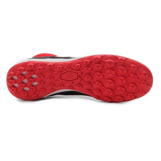 2080e507e4 Chuteira Society Adidas Predator TAN 18 3 TF - Preto e Vermelho ...