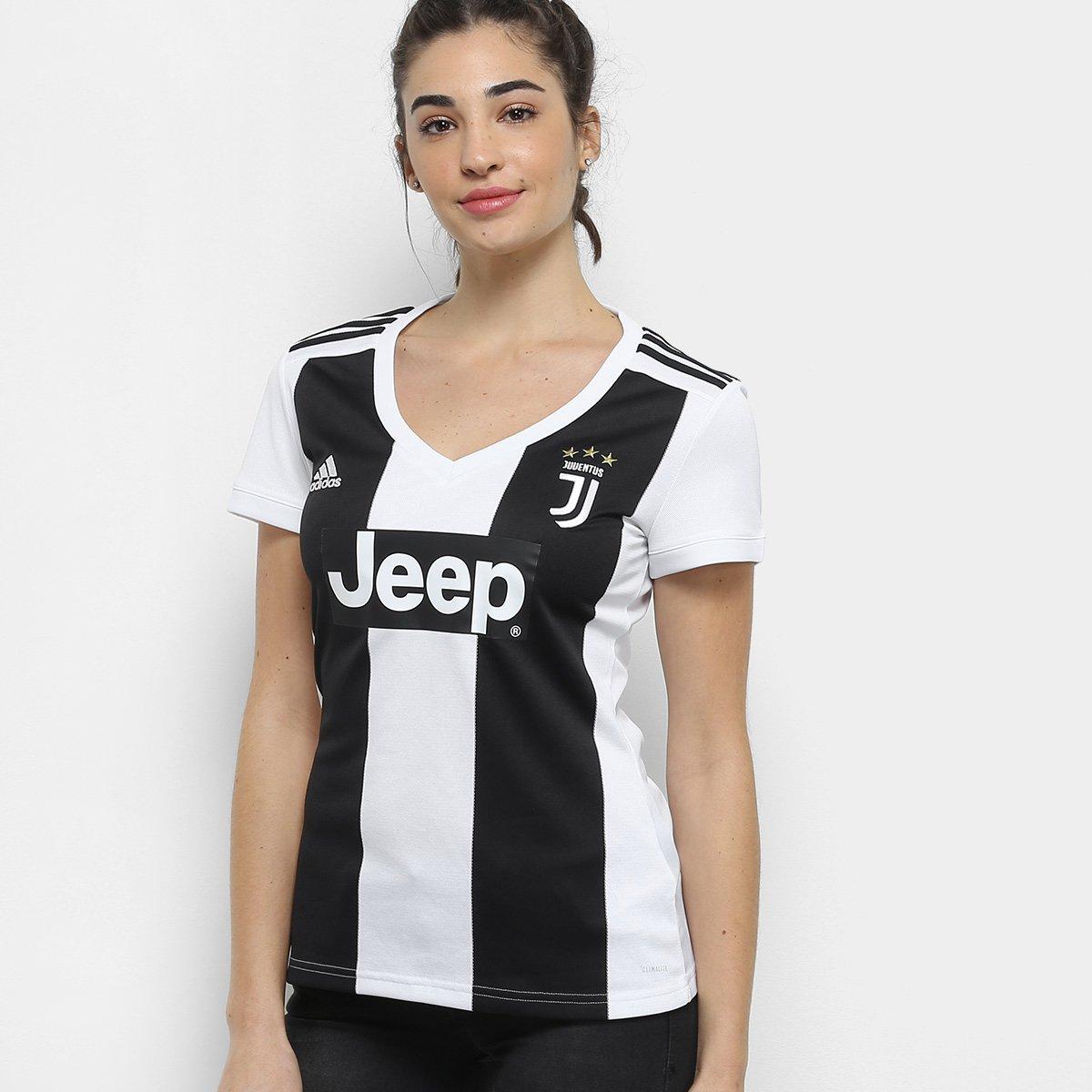 e75de1d741 Camisa Juventus Home 2018 s n° - Torcedor Adidas Feminina