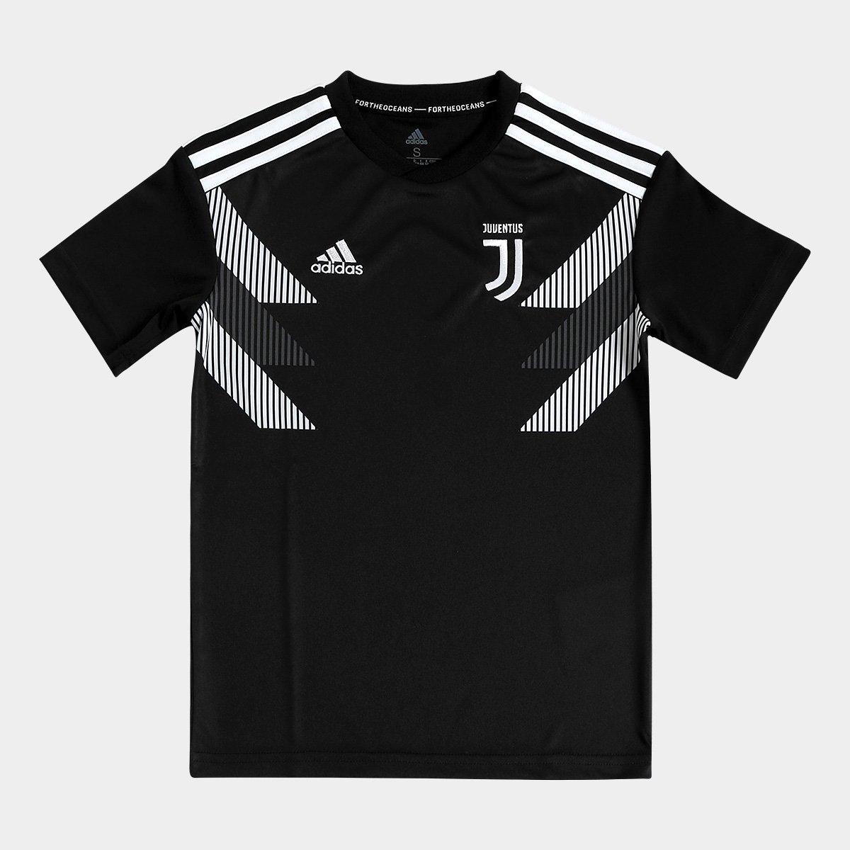 3f5f00360d582 Camisa Juventus Infantil Pré-Jogo Adidas | Livelo -Sua Vida com Mais ...