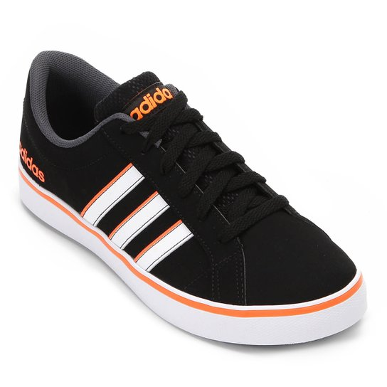 ca41471114b Tênis Adidas Vs Pace Masculino - Preto e Branco - Compre Agora ...