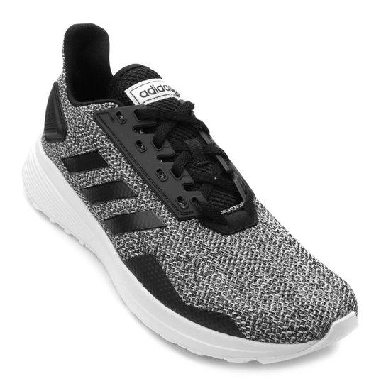 80553f3fd26 Tênis Adidas Duramo 9 Masculino - Preto e Branco - Compre Agora ...