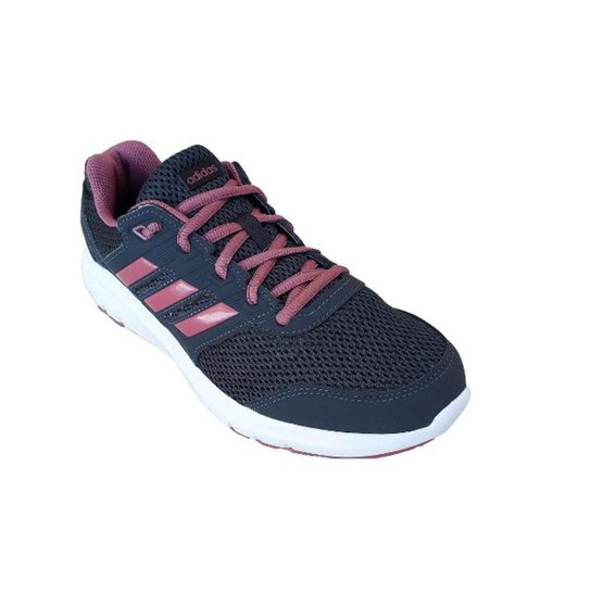 ee202d8639 Tênis Adidas Duramo Lite 2 0 Feminino - Cinza e Rosa - Compre Agora ...