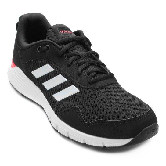 de99ecd337 Tênis Adidas Fluidcloud Neutral Feminino - Preto e Branco - Compre ...