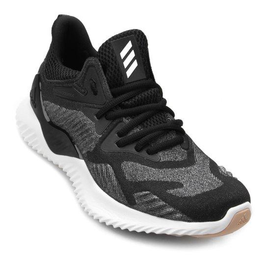 2b37d19fa5f Tênis Adidas Alphabounce Beyond Feminino - Preto e Branco - Compre ...