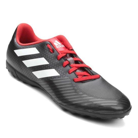 Chuteira Society Adidas Artilheira III TF - Preto e Branco - Compre ... 1311617d403c7