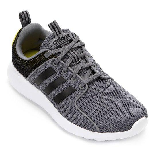 d4c094c05 Tênis Adidas Cf Lite Racer M Masculino - Preto e Branco - Compre ...