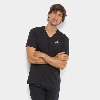 Camiseta Adidas Decote V Tef Ess Masculina