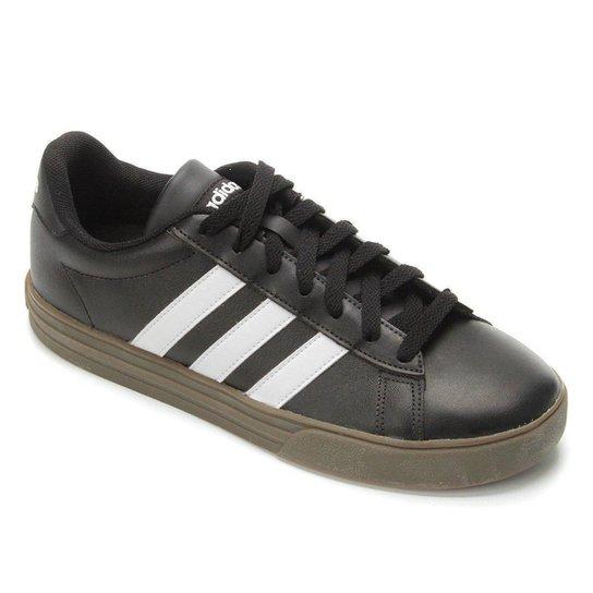 f1c571e3bb6 Tênis Adidas Daily Masculino - Preto e Branco - Compre Agora
