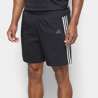 3ab6757c5 Bermuda Adidas Running 3-Stripes Masculina