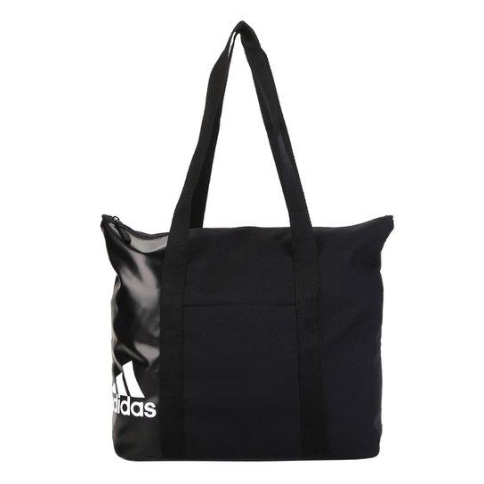 a519d0d84 Bolsa Adidas Tote Essentials Feminina - Preto+Branco