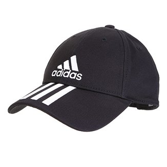 3fccd871d Boné Adidas Ess 3 Stripes Cotton Aba Curva