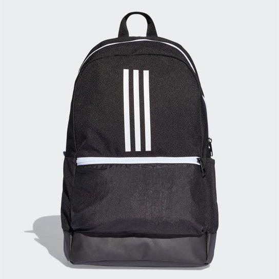 41cc72defb2 Mochila Adidas Classic BackPack 3 Stripes - Preto e Branco - Compre ...