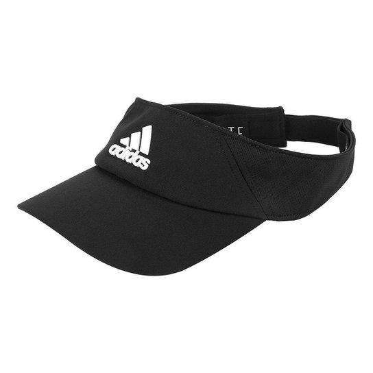 Viseira Adidas Climalite - Preto e Branco - Compre Agora  841bdbbd982