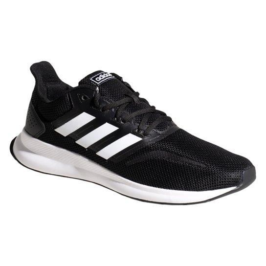 Tênis Adidas Falcon Masculino - Preto e Branco - Compre Agora  85fdc609382ff