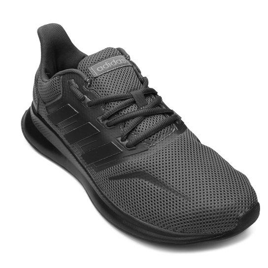 057219a5921 Tênis Adidas Falcon Masculino - Cinza e Branco - Compre Agora