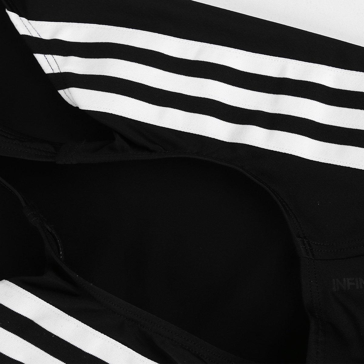Maiô Infantil Adidas Atly V 3-Stripes - Tam: 9/10A - 2