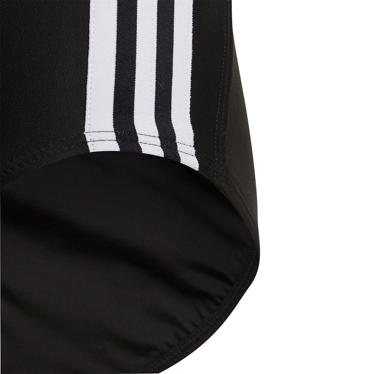 Maiô Infantil Adidas Atly V 3-Stripes - Tam: 9/10A - 3