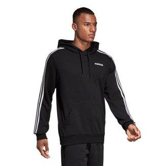 657e8096a26a2 Moletom Adidas Essentials 3-Stripes Masculino