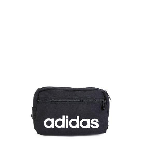 080a207f8 Pochete Adidas Lin Core Waistb - Preto+Branco