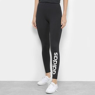 Calça Legging Adidas Estampa Logo Feminina d7628dc4836