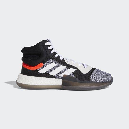 9ca94d0967 Tênis Adidas Marquee Boost Blk Masculino - Preto+Branco