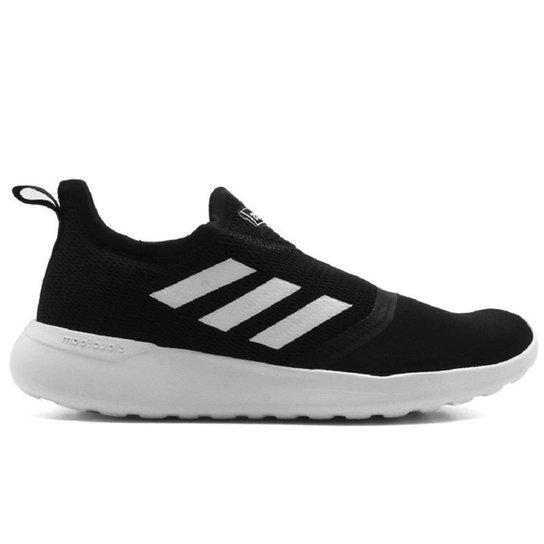 4ba6c4d26 Tênis Adidas Lite Racer Slip On Masculino - Preto e Branco | Netshoes