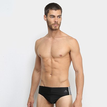 Sunga Adidas Fitness 3 Stripes Trunk Masculina