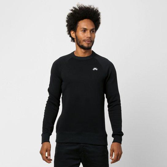 caaf301775 Moletom Nike SB Icon Crew Fleece - Compre Agora