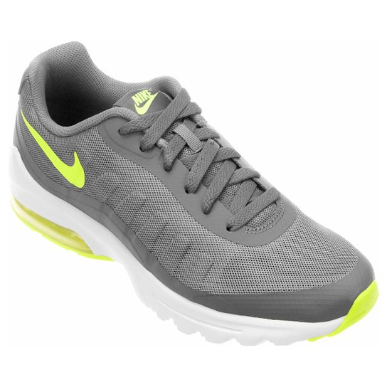 ccd50850465 Tênis Nike Air Max Invigor Masculino - Cinza e Branco - Compre Agora ...