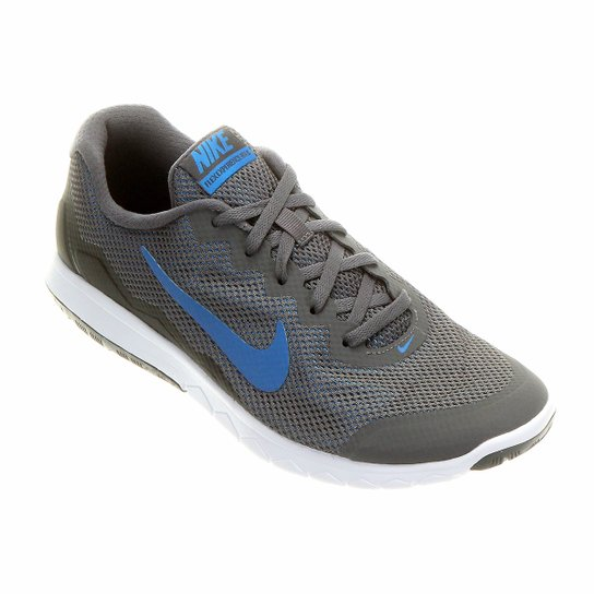 ae520c18d3 Tênis Nike Flex Experience RN 4 Masculino - Cinza+Branco ...