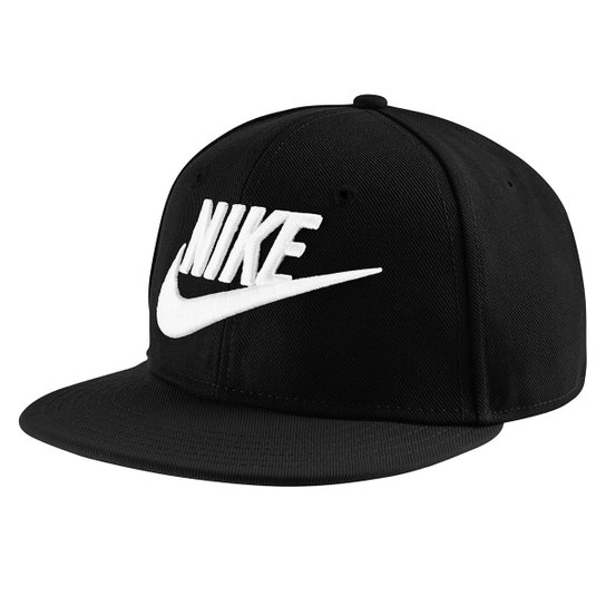 faedd40931 Boné Infantil Nike Aba Reta Futura Truel - Preto e Branco | Netshoes