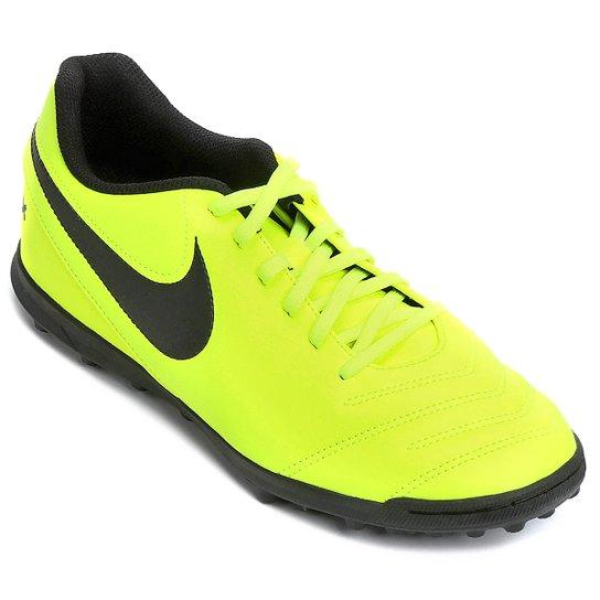 cf48d27aeeb6a Chuteira Society Nike Tiempo Rio 3 TF - Compre Agora