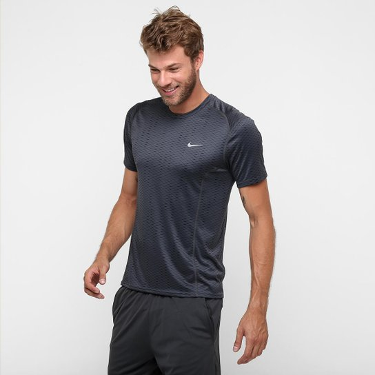 Camiseta Nike Dri-Fit Miler Fuse Ss - Compre Agora  80ad57a082bf8