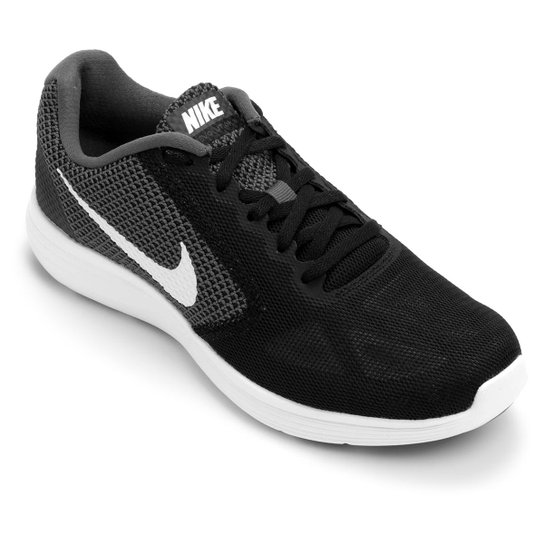 ee588d119b7 Tênis Nike Revolution 3 Masculino - Preto e Cinza - Compre Agora ...