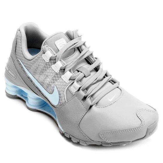 e4878f5d49 Tênis Nike Shox Avenue Se - Cinza+Azul Claro