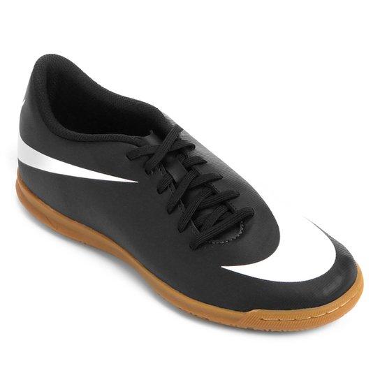 93282f41b9 Chuteira Futsal Nike Bravata 2 IC - Preto e Branco - Compre Agora ...