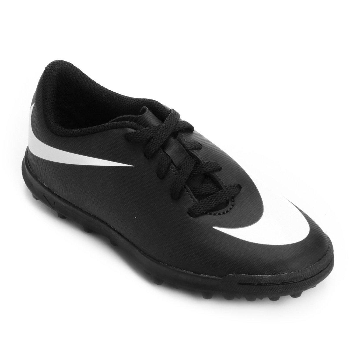 Chuteira Society Infantil Nike Bravata 2 TF 43385b423ed5d